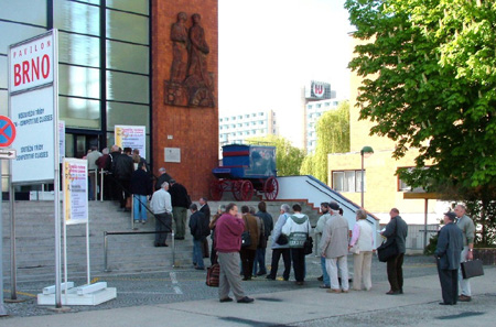 Brno 2005 - čtvrtek 12. 5. 2005
