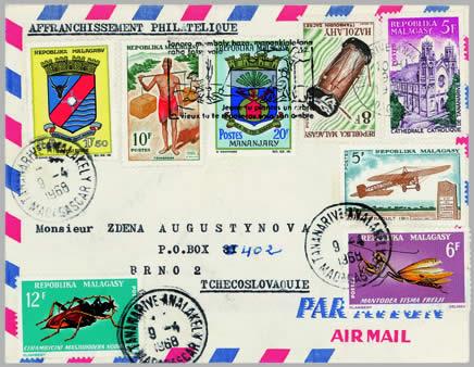 Brouci na známkách (2)