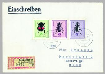 Brouci na známkách (4)