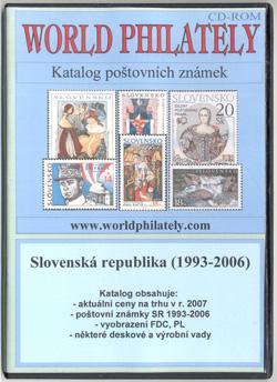 Ceník, katalog poštovních známek - Slovenská republika (1993-2006) - World Philately 2007 - NOVINKA!