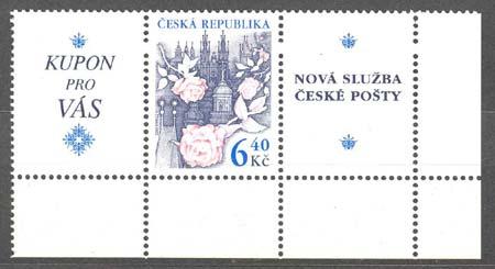 České personalizované známky
