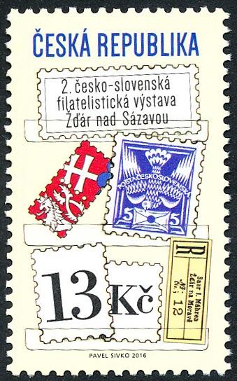 Česko-slovenská filatelistická výstava Žďár nad Sázavou