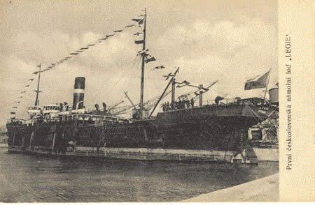 Československé námořní lodě