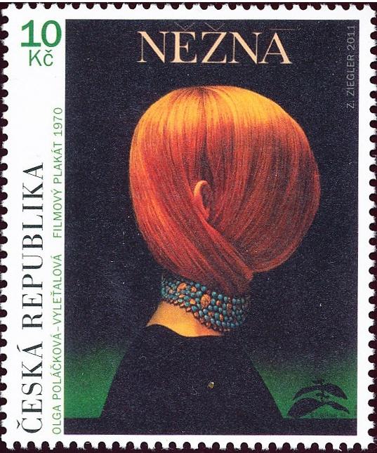Český filmový plakát - Něžná