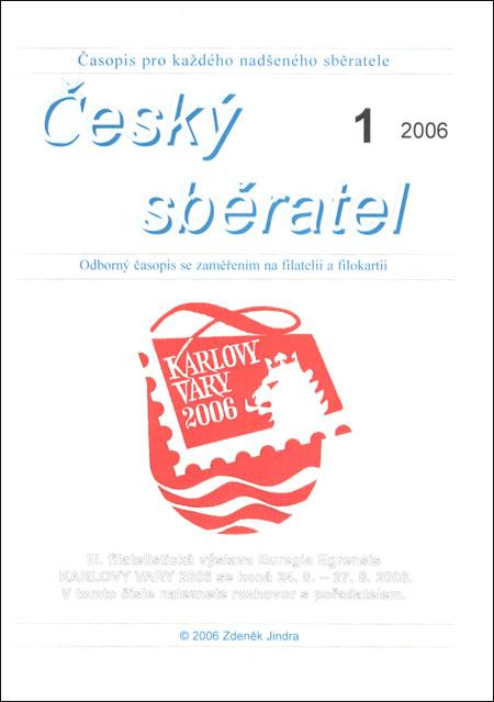 Český sběratel 1/2006