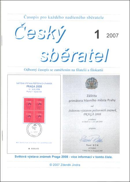 Český sběratel 1/2007