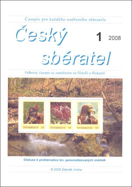 Český sběratel 1/2008