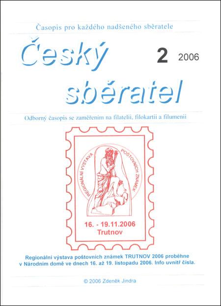 Český sběratel 2/2006