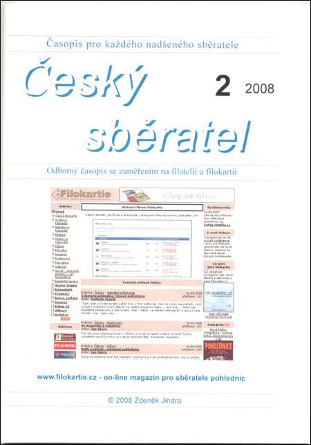 Český sběratel 2/2008