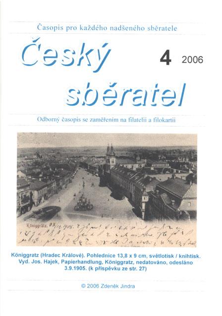 Český sběratel 4/2006
