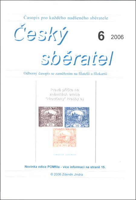 Český sběratel 6/2006