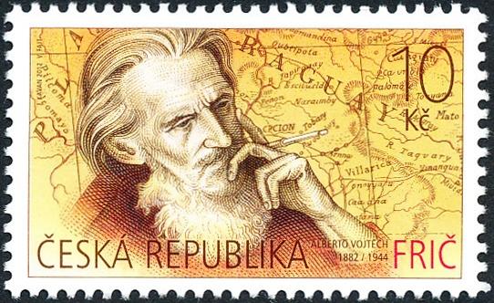 Cestovatel Alberto Vojtěch Frič (1882 - 1944)