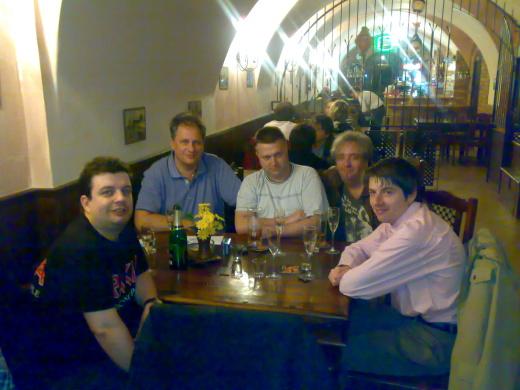 Členové diskusního fóra Infofily na filatelistické výstavě Vysoké Mýto