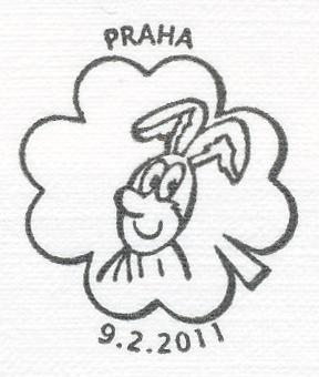 Čtyřlístek - Pinďa - známkový sešitek