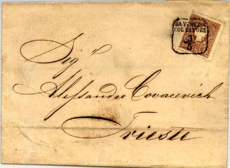 Další dopisy odeslané z parníků