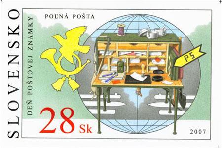 Deň poštovej známky 2007 – Poľná pošta