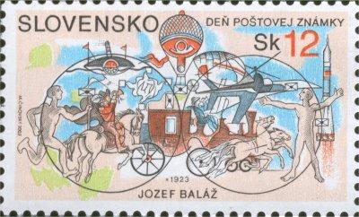 Deň poštovej známky - Jozef Baláž