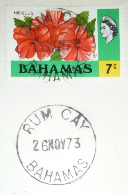 Denní razítko s vůní rumu