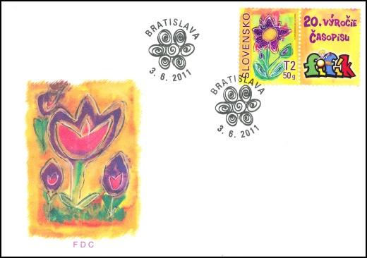 Detská známka - známka s personalizovaným kupónom