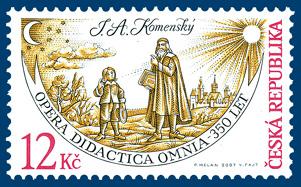 Dílo J. A. Komenského - Opera Didactica Omnia - 350 let od vydání