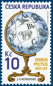 Dílo J. A. Komenského: Orbis pictus - 350 let od vydání