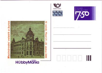 Dopisnice: Mezinárodní veletrh a burza HobbyMania 2006