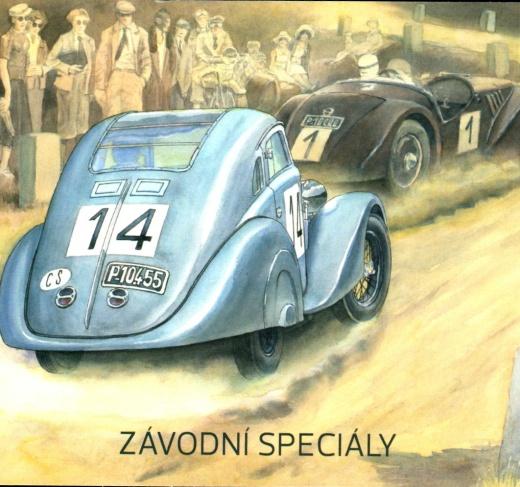 Dopravní prostředky 2020 - závodní speciály - známkový sešitek