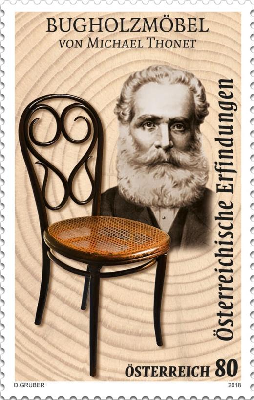 Dovětek k emisi Vynálezy - Ohýbaný nábytek