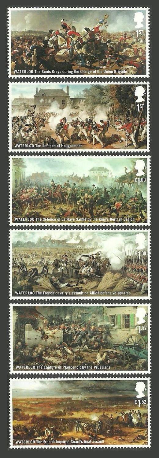 Dvousté výročí bitvy u Waterloo