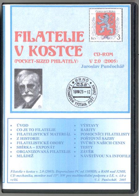 Encyklopedie Filatelie v kostce na CD