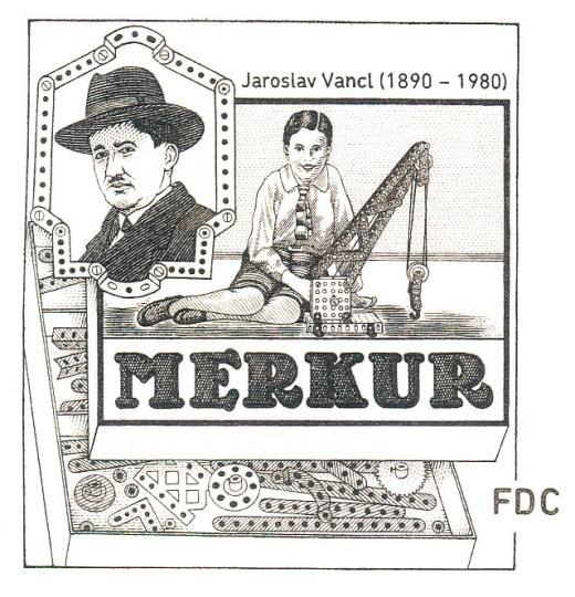 Europa - Hračky – stavebnice Merkur
