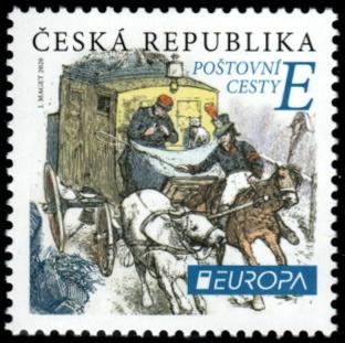 EUROPA - Poštovní cesty