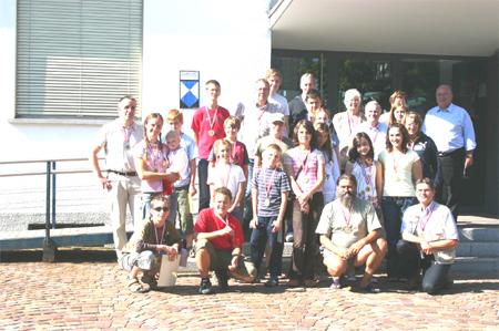 Evropské setkání mladých filatelistů 30.7.-4.8.2007 v Altachu v Rakousku