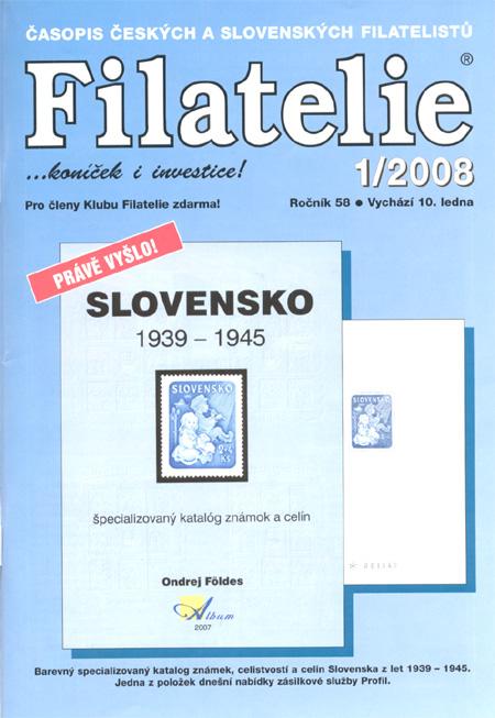 Filatelie 1/2008