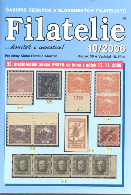 Filatelie 10/2006
