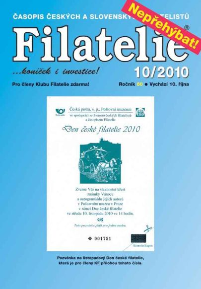 Filatelie 10/2010