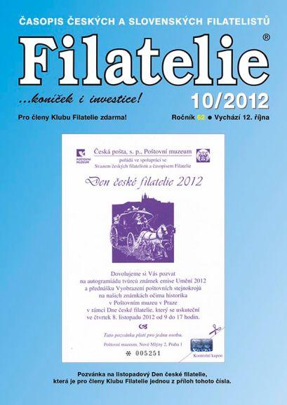 Filatelie 10/2012