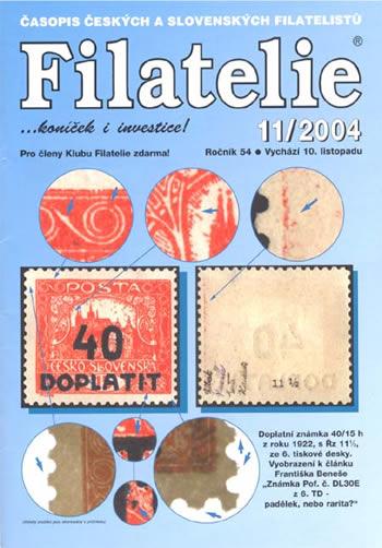 Filatelie 11/2004