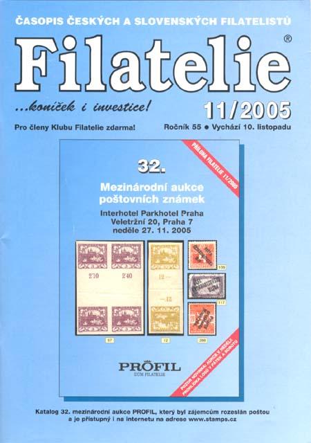 Filatelie 11/2005