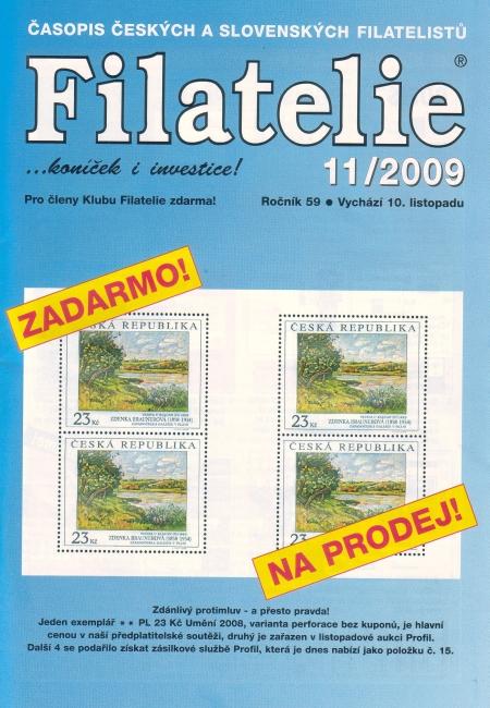Filatelie 11/2009
