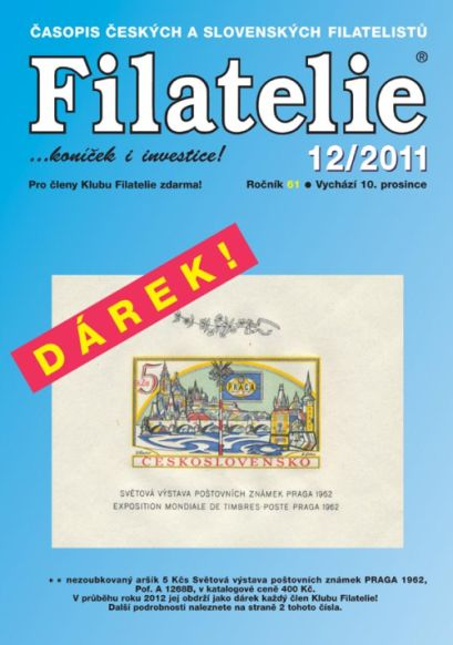 Filatelie 12/2011