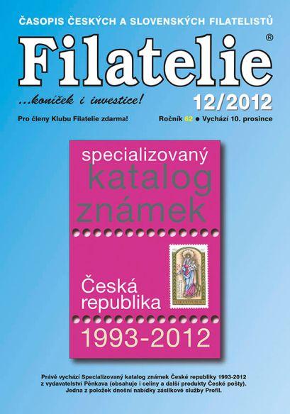 Filatelie 12/2012