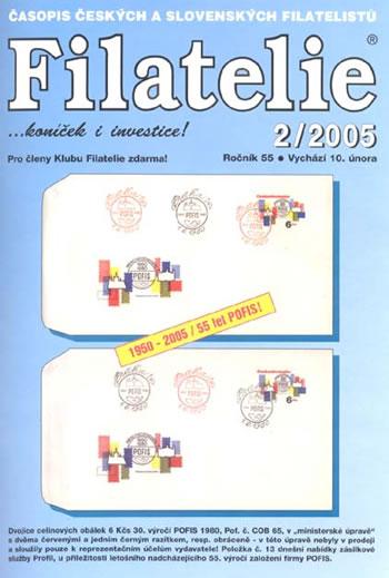 Filatelie 2/2005
