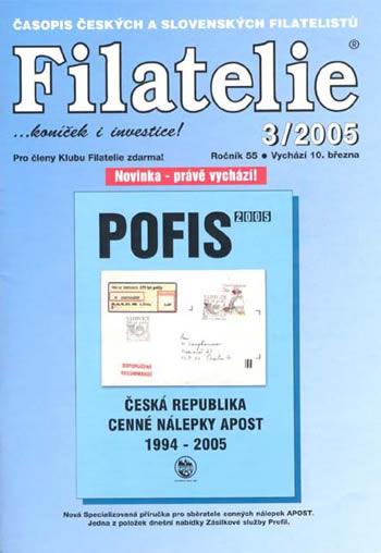 Filatelie 3/2005