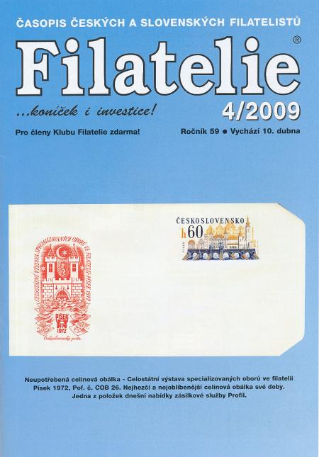Filatelie 4/2009