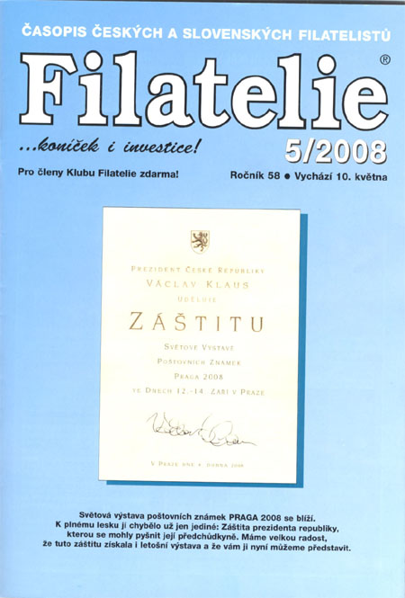 Filatelie 5/2008