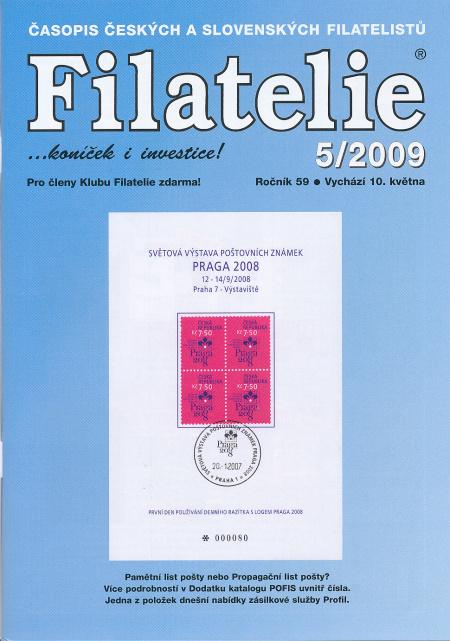 Filatelie 5/2009