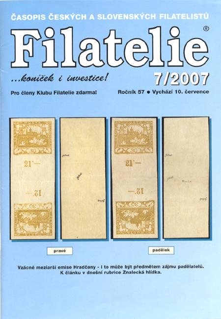 Filatelie 7/2007