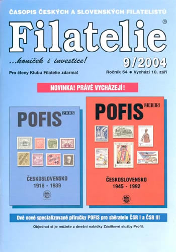 Filatelie 9/2004