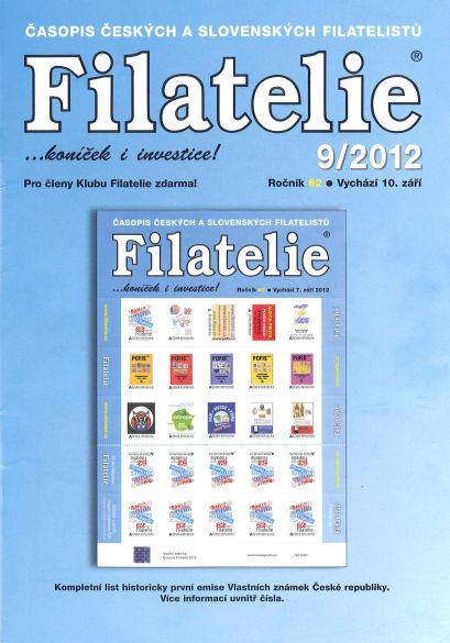 Filatelie 9/2012
